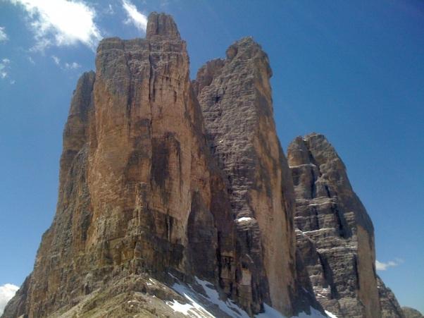Les Tre Cime di Lavaredo, Dolomites, Italie