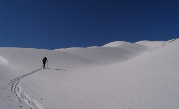 Ski de randonnée aux Zagros en Iran