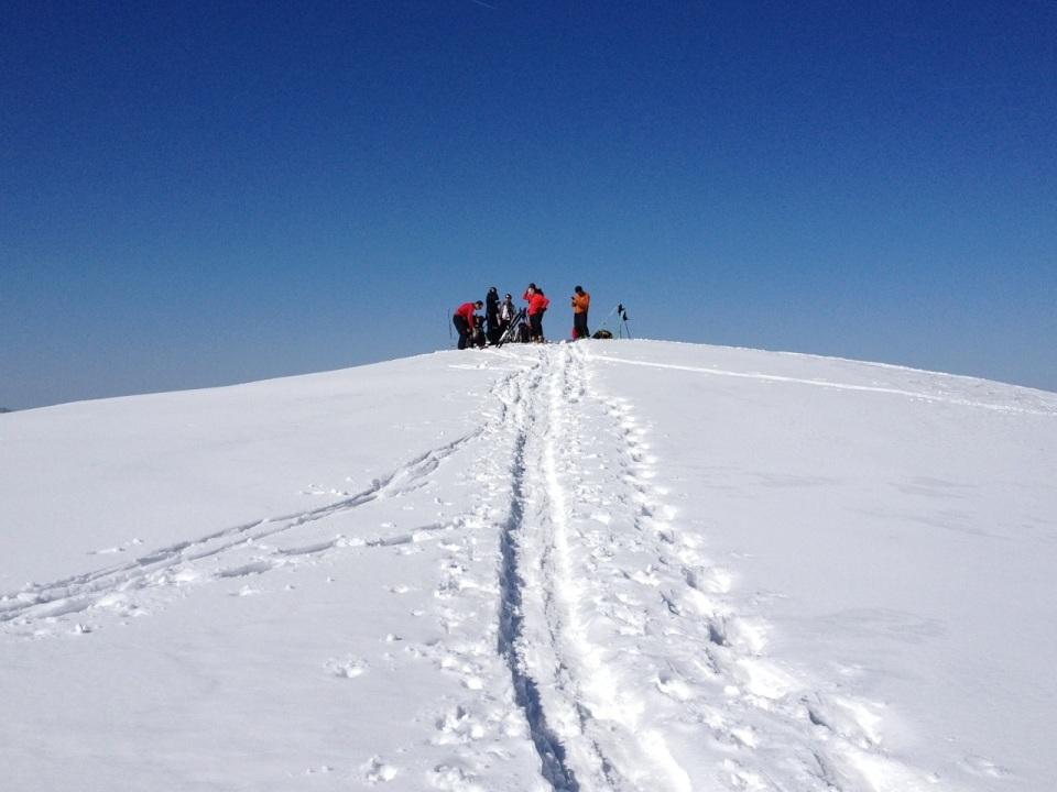 semaine de formation pour les futurs initiateurs de ski de randonné