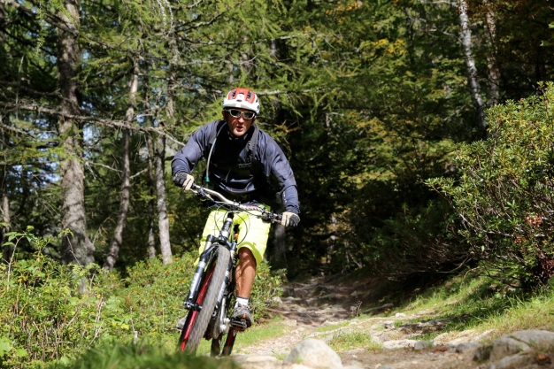 vtt all mountain, enduro autour de chamonix