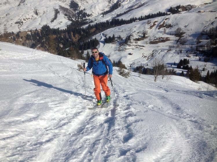 Stage initiateurs ski de randonnée en Beaufortain avec la FSGT