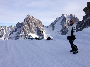 Ski aux Grands Montets