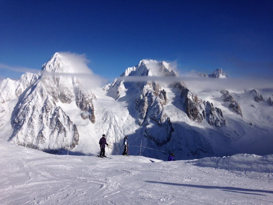 lorsque les conditions sont bonnes le ski aux grands montets est facile et vraiment exceptionnel