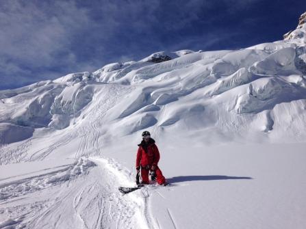 L'itinéraire idéal pour le snow depuis l'Aiguille