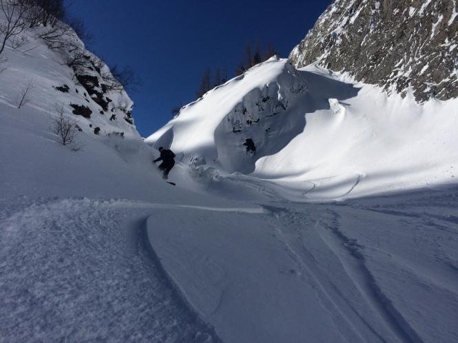 Couloir du Van, Le Tour Chamonix