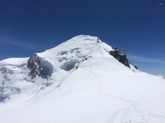 Mont Blanc depuis le Dome du Gouter