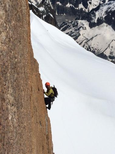 variante de sortie permettant d'atteindre le sommet