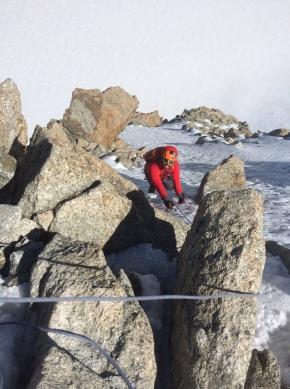 Contamine Grisole mont blanc du Tacul