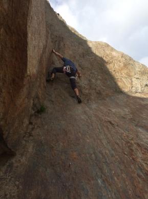 l'ercole d'escalade du bravent juste parfait pour apprendre à grimper en granit