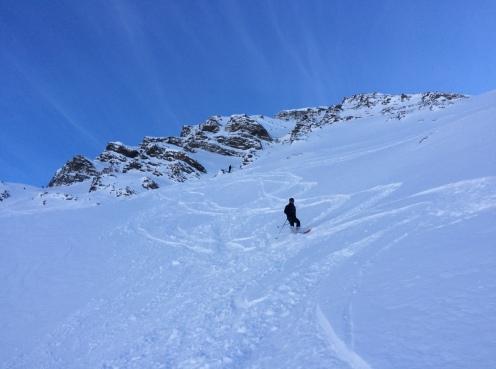 ski hors pistes à Courmayeur