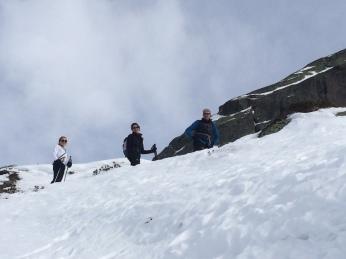 Rando à ski au Brévent, lacs noirs, col de la glière