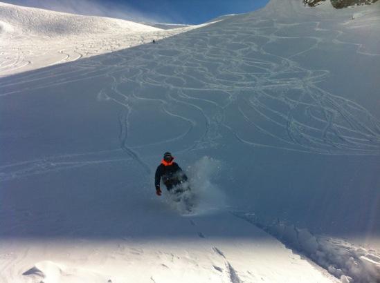 un certain niveau est indispensable pour faire la Vallée blanche en snowboard