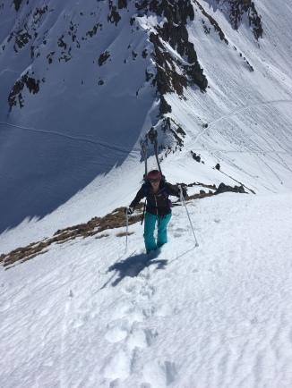 ski de randonnée dans les aiguilles rouges à chamonix