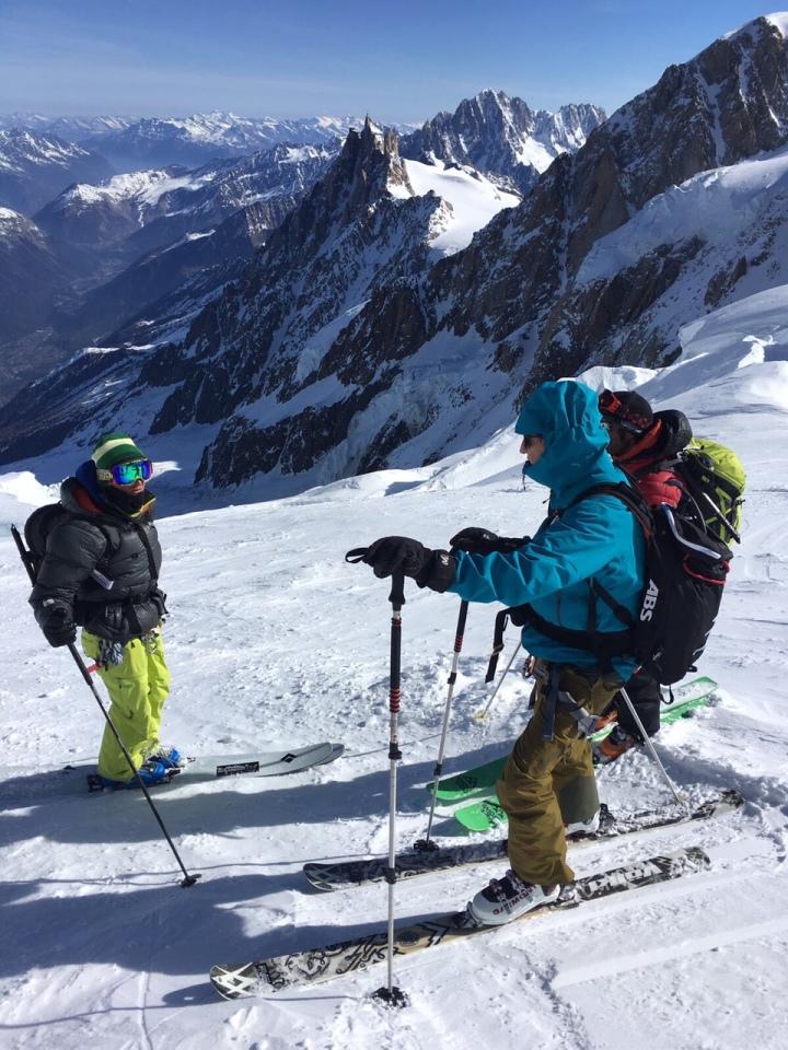 Ski au Mont Blanc