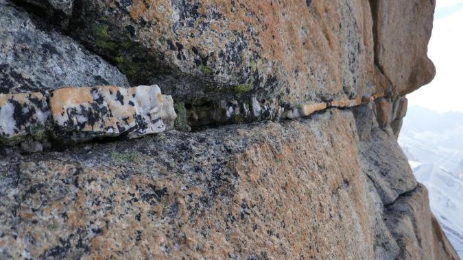 granit de chamonix, escalade de la face sud de l'aiguille la rebuffat baquet
