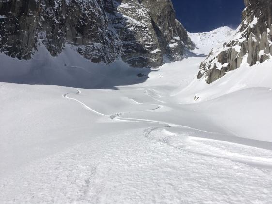 snowboard au glacier d'Entrèves