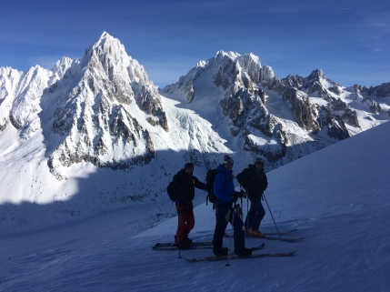 freeride aux Grands Montets