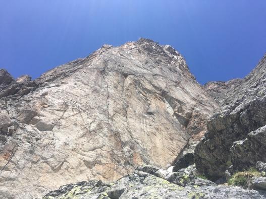 escalade au refuge Dalmazi