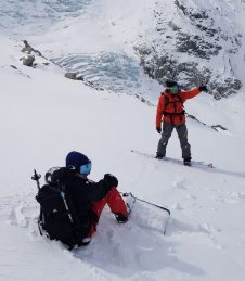guide snowboard chamonix