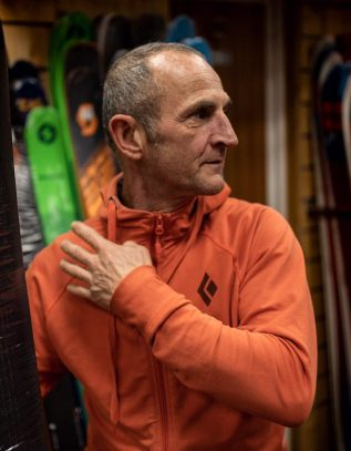 guide de haute montagne guide à chamonix rock climbing split boarding skiing